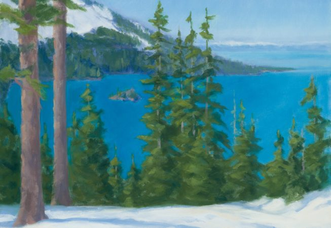 Emerald Bay, oil, 11 x 14 © Skip Andreae all rights reserved